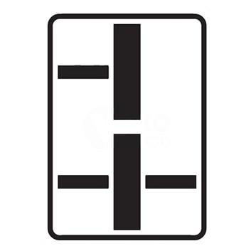 Dopravní značka E2d - Tvar dvou křižovatek