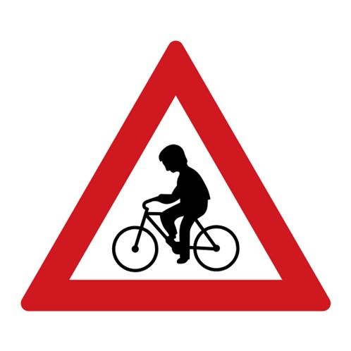 Dopravní značka - Cyklisté