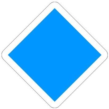 Železniční značka - Posun zakázán