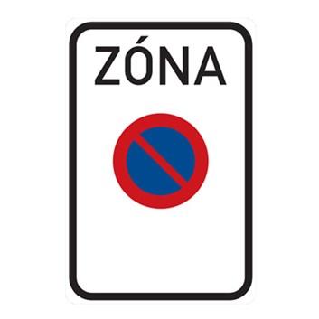 Dopravní značka IZ8a - Zóna s dopravním omezením