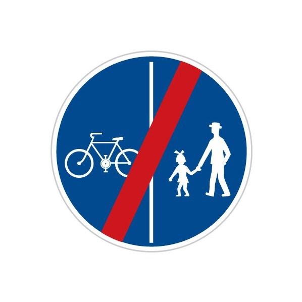 Konec stezky pro chodce a cyklisty, tip2