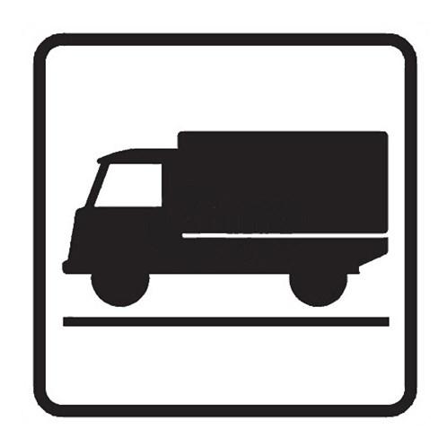 Dopravní značka - Dodatková tabulka - Druh vozidla,  E9, 500mm