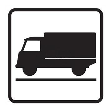 Dopravní značka E9 - Druh vozidla