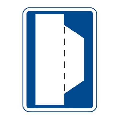 Dopravní značka - Nouzové stání, 500 x 700mm