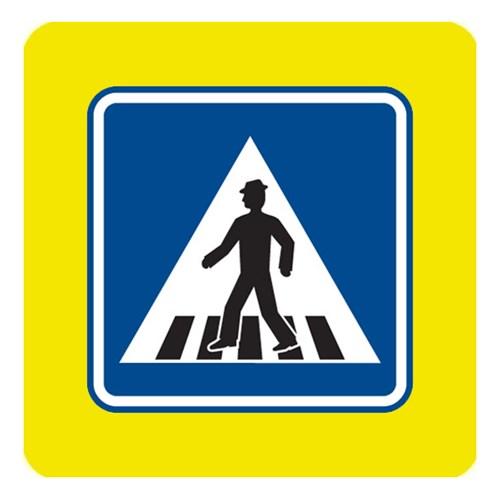 Dopravní značka - Přechod pro chodce, 750mm
