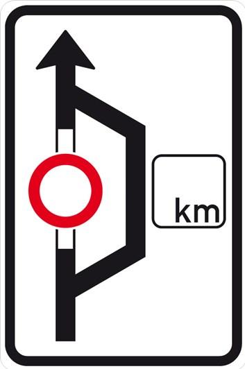 Dopravní značka IS11a - Návěst před objížďkou