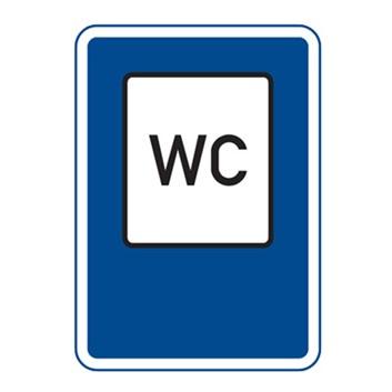 Dopravní značka IJ12 - WC
