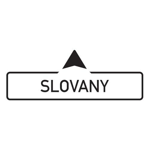 Dopravní značka - Směrová tabule,  1100 x 330mm