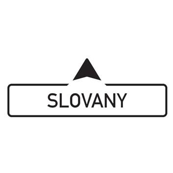 Dopravní značka IS4a - Směrová tabule