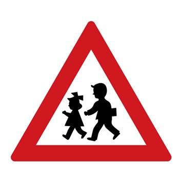 Dopravní značka A12b - Děti