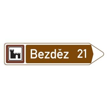 Dopravní značka IS24b - Kulturní nebo turistický cíl