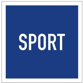 Plavební znak E16 -Plavba sportovních a rekreačních plavidel povolena