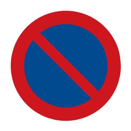Dopravní značka - Zákaz stání