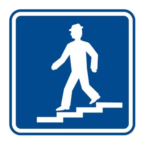 Dopravní značka - Podchod nebo nadchod