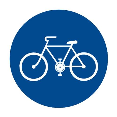 Dopravní značka - Stezka pro cyklisty