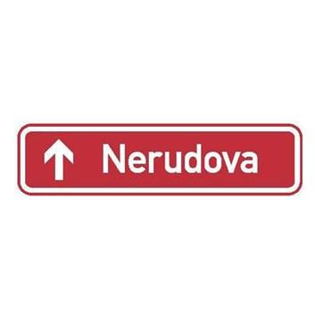 Dopravní značka IS22b - Označení názvu ulice