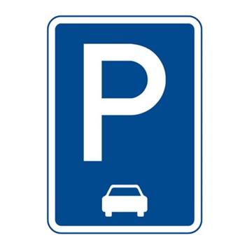 Dopravní značka IP11c - Parkoviště (podélné stání)