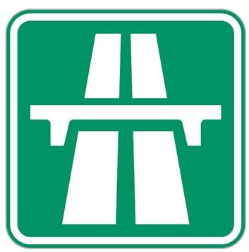Dopravní značka IZ1a - Dálnice