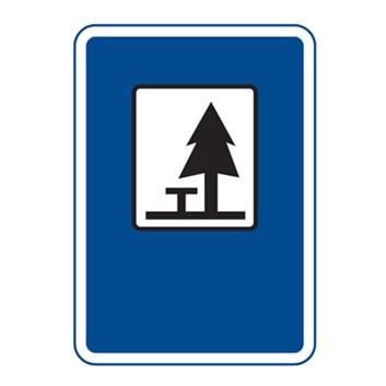 Dopravní značka IJ13 - Místo pro odpočinek