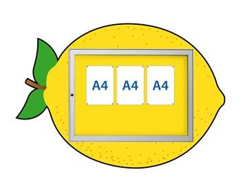 Informační vitrína Citron
