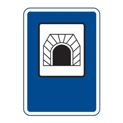 Dopravní značka - Tunel, 500 x 700mm