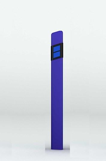 Směrový sloupek Z11e modrý