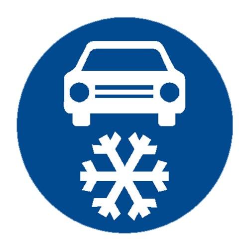 Dopravní značka - Zimní výbava