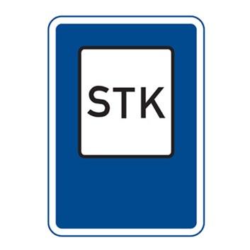 Dopravní značka IJ9 - Stanice technické kontroly