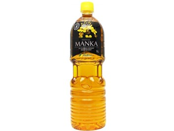 Olej řepkový lisovaný za studena MANKA  1000 ml