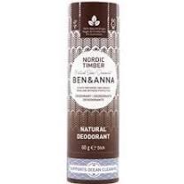 Přírodní tuhý deodorant v papírové tubě Nordic Timber Ben & Anna 60 g