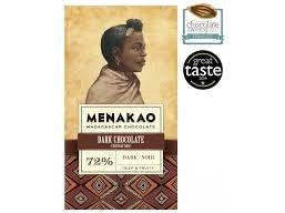Čokoláda Menakao Madagaskar 72%