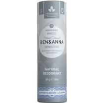 Přírodní tuhý deodorant v papírove tubě SENSITIVE Highland Breeze 60g