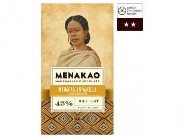 Mléčná čokoláda Menakao Madagaskar 45%