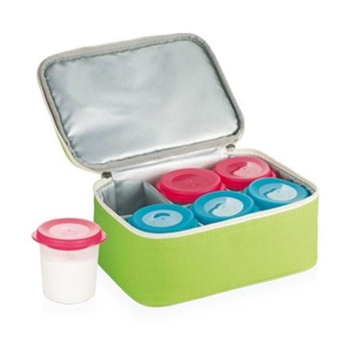 Tescoma jogurtovač BAMBINY, 6 dóz s termobrašnou
