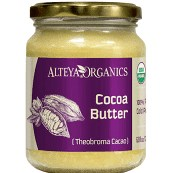 Kakaové máslo 100% Bio Alteya 200 ml