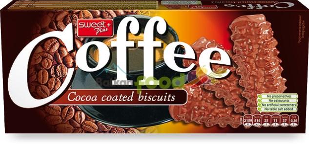 Kakaové sušenky s kakaovou polevou