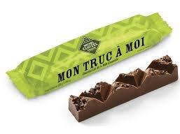"""Čokoládová tyčinka Michel Cluizel Jenom moje """"Mon truc a moi"""""""