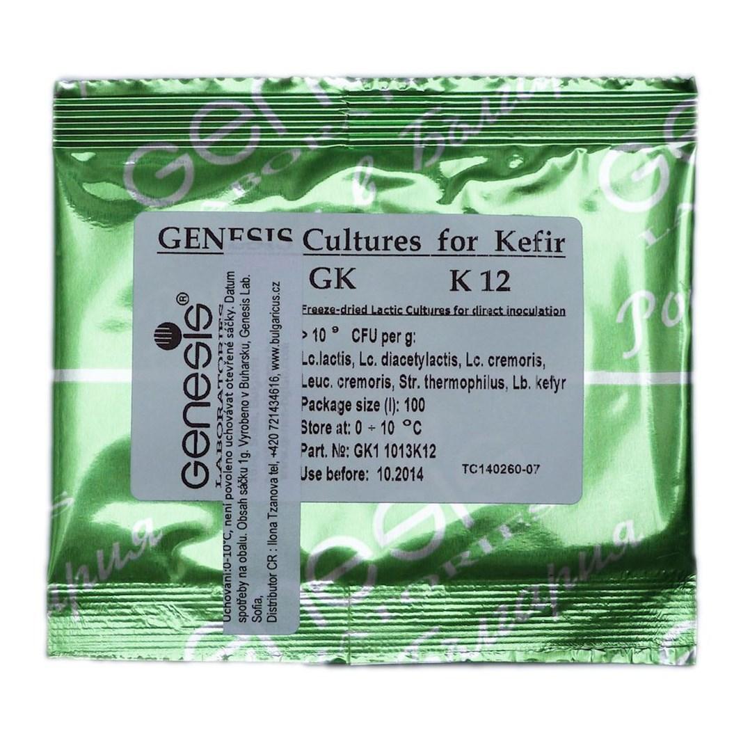 Kefírová kultura K12
