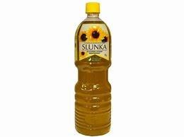 Olej slunečnicový  lisovaný za studena SLUNKA 1000ml