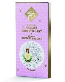 Výroční čokoláda Cluizel Grand lait 45% s křupavým praliné