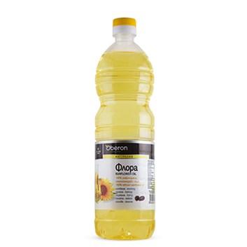 Slunečnicový olej Flora 1l