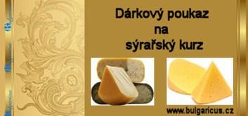 Dárkový poukaz na sýrařský kurz