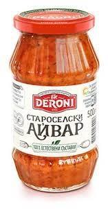Ajvar Kulinářský mistr Deroni 250 g