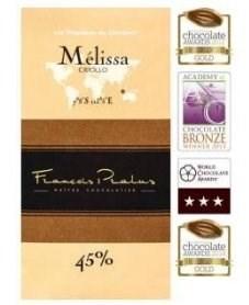 Čokoláda Francois Pralus Mélissa 45%