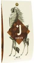 Čokoláda Jordis HIT - mléčná 53% s kousky bobů