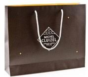 """Obří bonboniéra Michel Cluizel """"Coffret No. 70 Noir & Lait"""" s dárkovou taškou"""