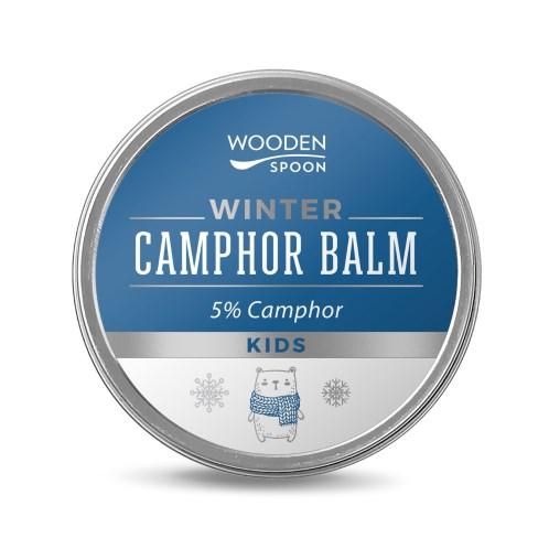 Zimní balzám pro děti s kafrem 5% WoodenSpoon 60 ml
