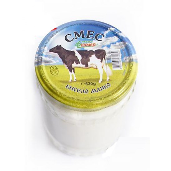 Farmářský jogurt z kravského a buvolího mléka ve skle - 530 g