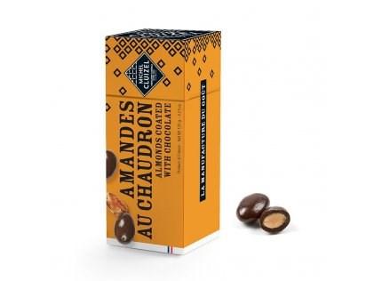 Tradičně pražené mandle v čokoládě Michel Cluizel