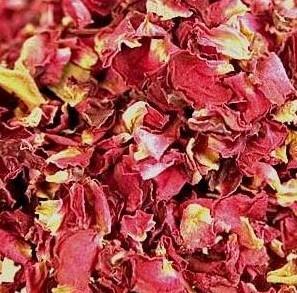 Růže sušené lístky květů - 50 g